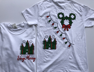 !!CHRISTMAS: Very Merry SLEEVIE or Tee