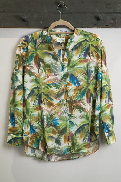Hartford Multi Palm Cabane Shirt