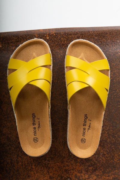 Nice Things Mustard Shoe