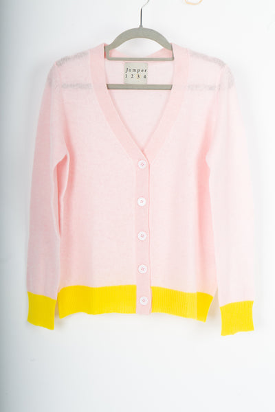 Jumper 1234 light pink cardi