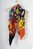 Nice Things Multi scarf in blue