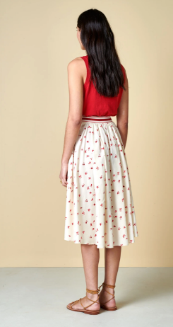 Bellerose Pacifico Floral Skirt
