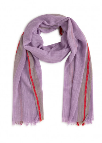 Nice Things Lateral Contrast Scarf