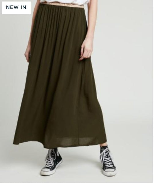 Hartford Juliette Skirt in army