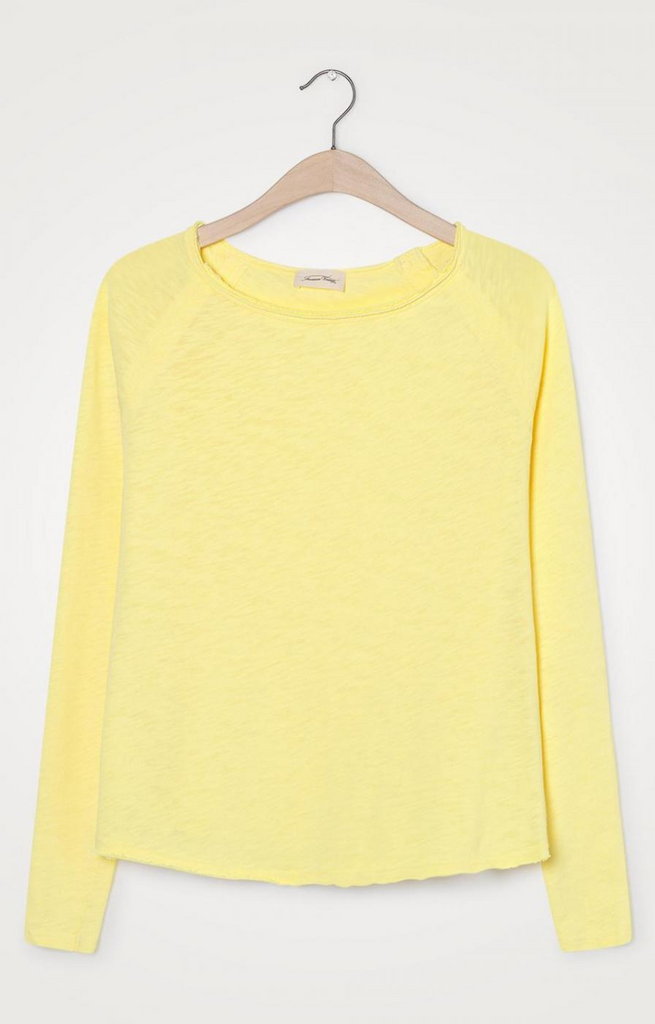 American Vintage Sonoma Top in Yellow