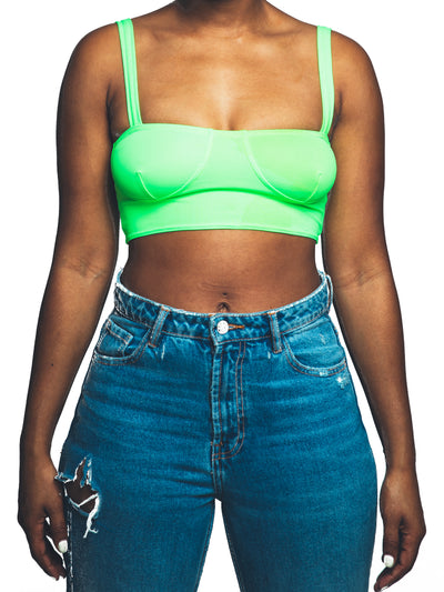 Colhers Tank | Neon Green