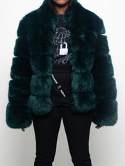 Nina Faux Fur Coat