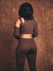 Mona Mocha Two-Piece Suit