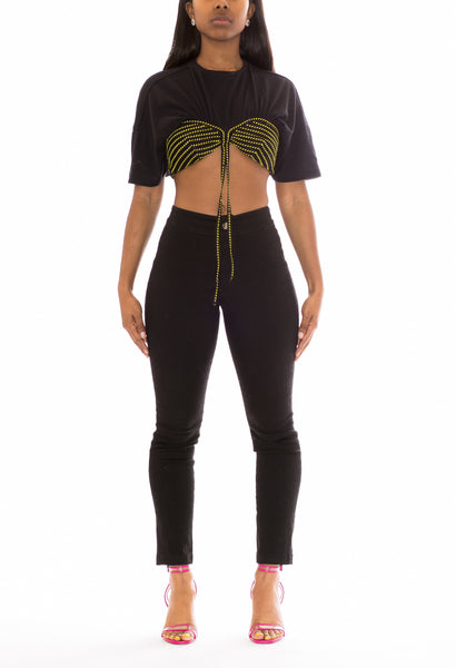 Fusion Crop Capri Pants