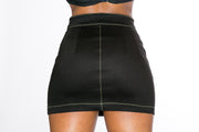 Signature Monroe Side Zip Skirt