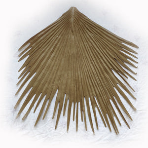 Synthetic Palm Thatch Roof Ridge - Bamboo Toronto Store