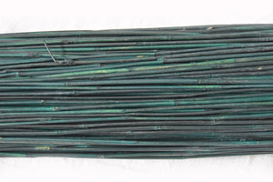 Dyed Green Bamboo Stakes 3'L x 6-8 mm - Bundle of 500 - Bamboo Toronto Store