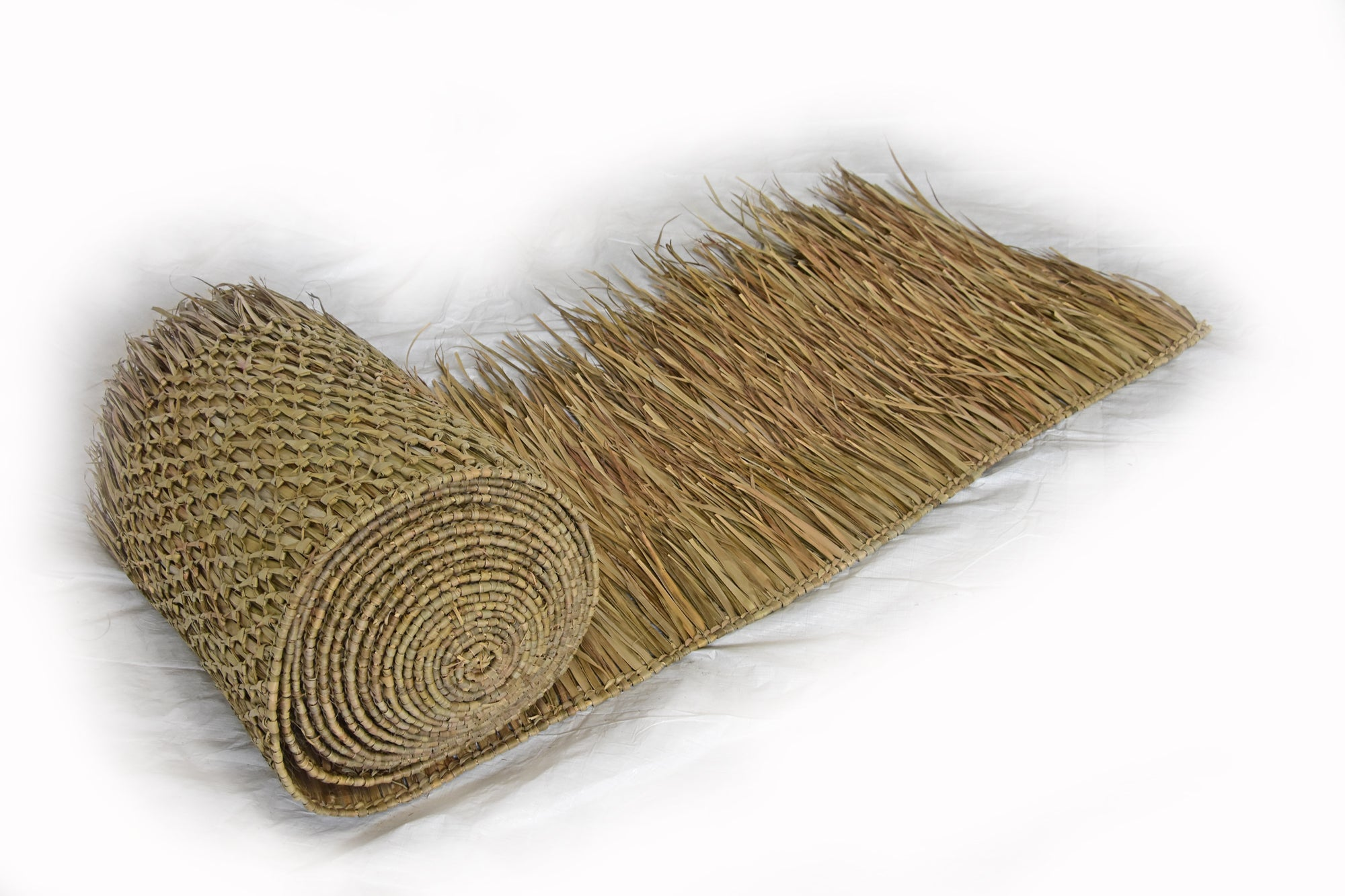 Mexican Palm Leaf Thatch Roofing