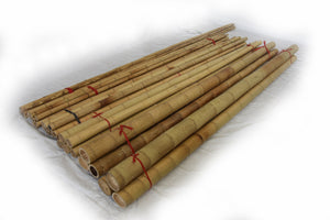 "Moso Bamboo Pole 2""D x 8' to 10'L Bundle - Bamboo Toronto Store"