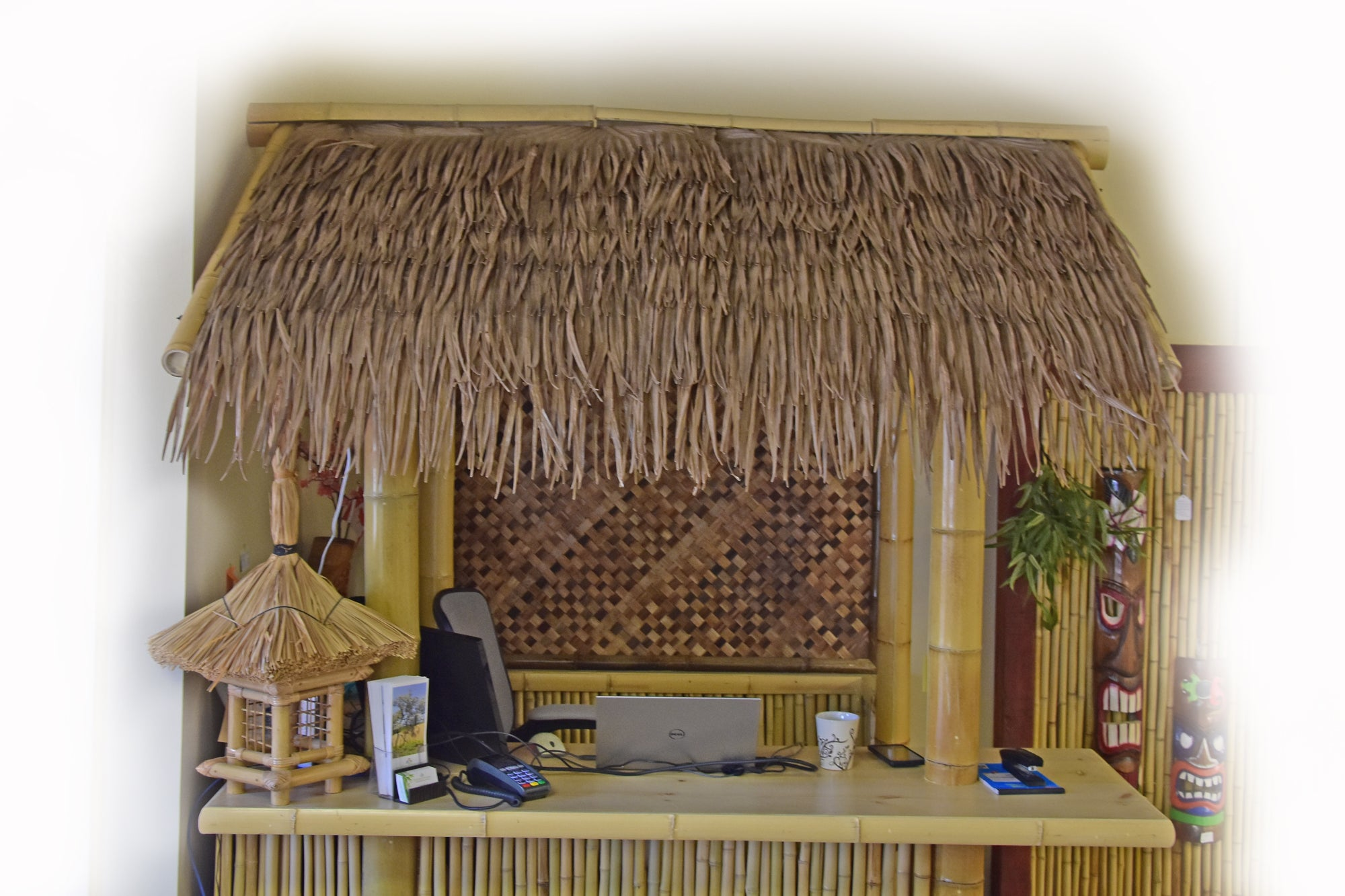 Synthetic Palm Thatch Roof Sheet 10 Pack - Bamboo Toronto Store