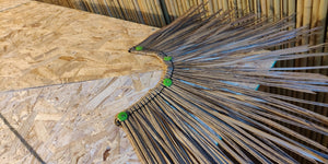 DuraFlex Synthetic Roof Thatch - Fire Retardant - Bamboo Toronto Store