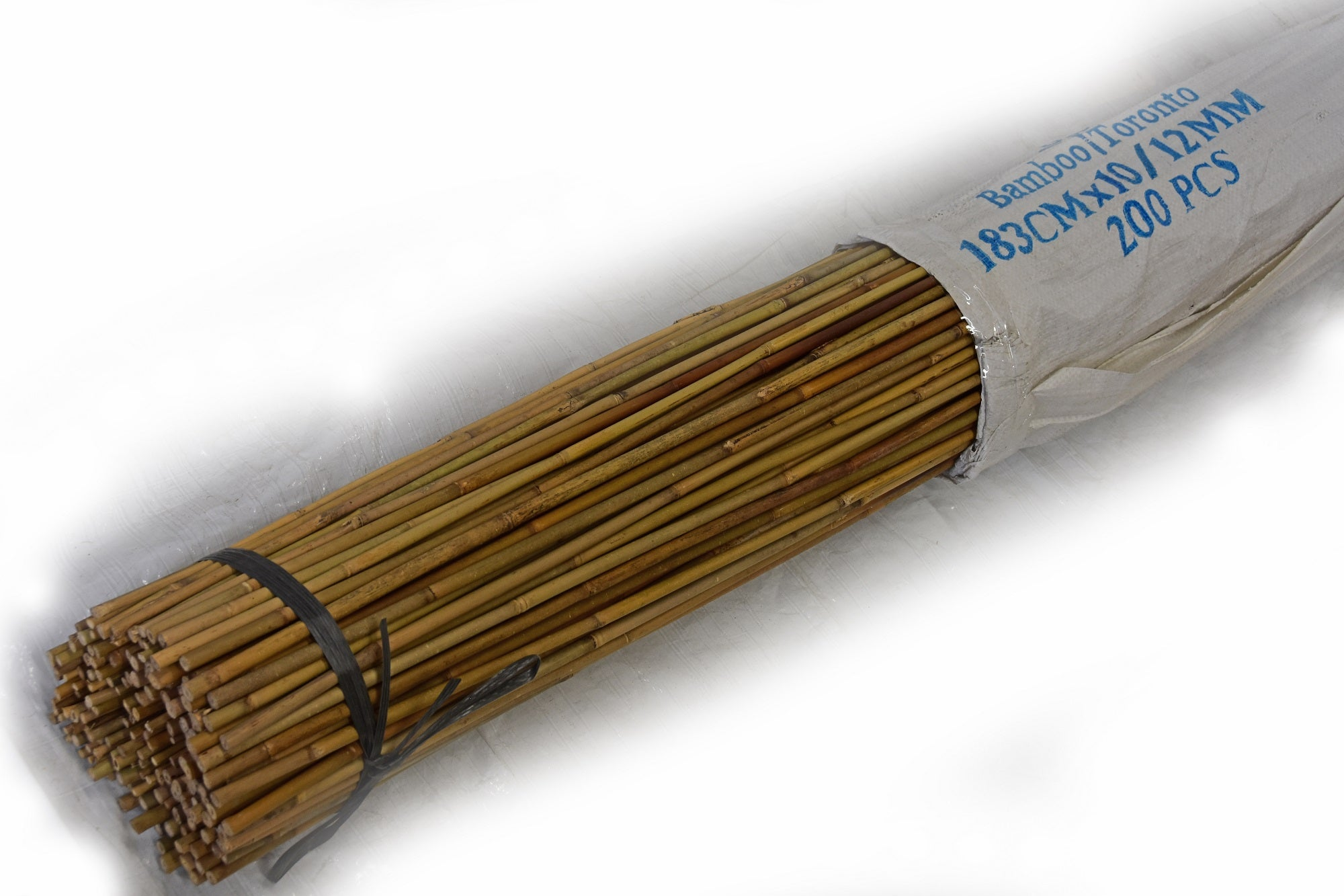 Tonkin Bamboo Pole 10-12mm x 6' Bundle of 200 - Bamboo Toronto Store