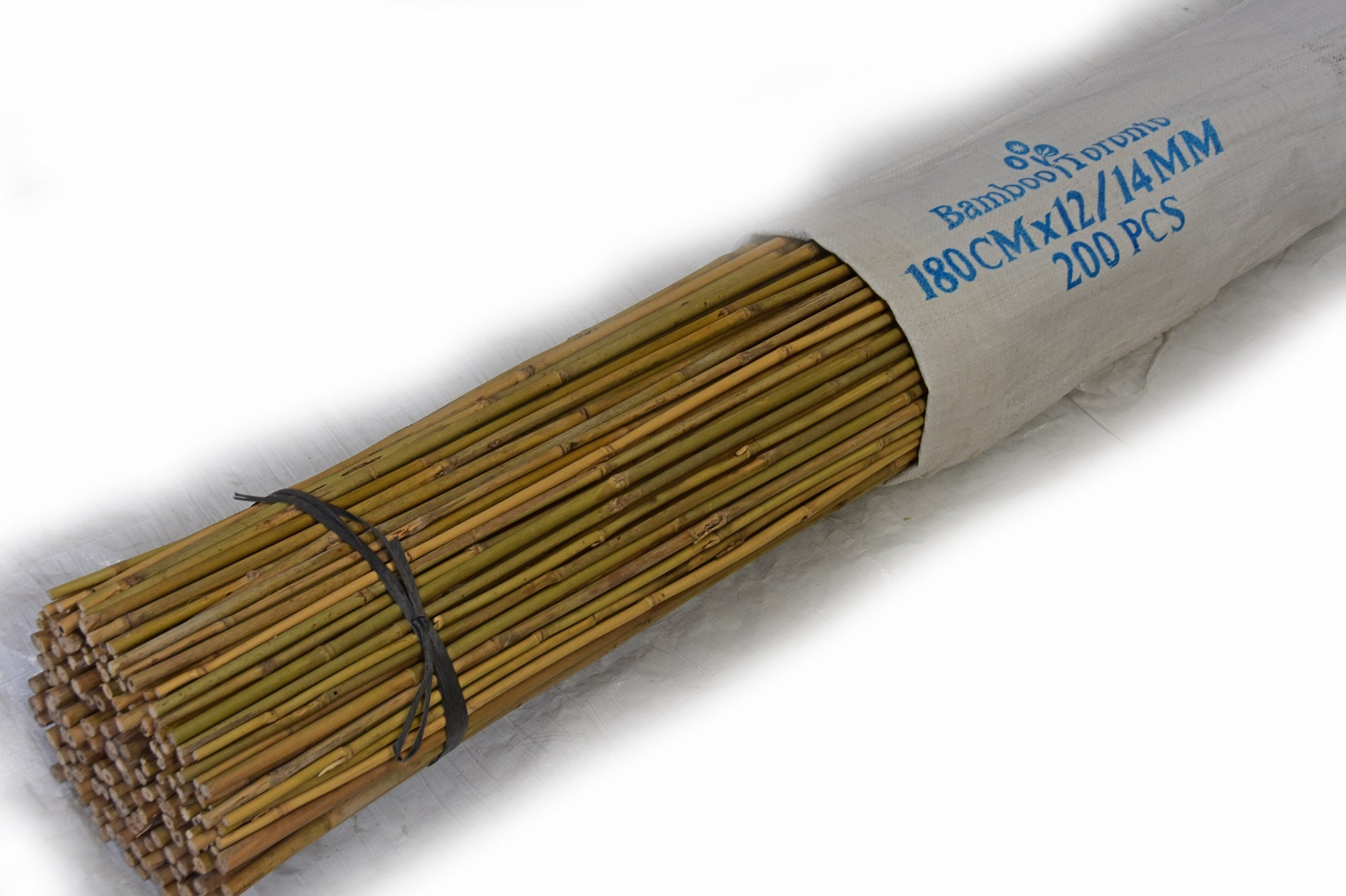 Tonkin Bamboo Pole 12-14mm x 6' Bundle of 200