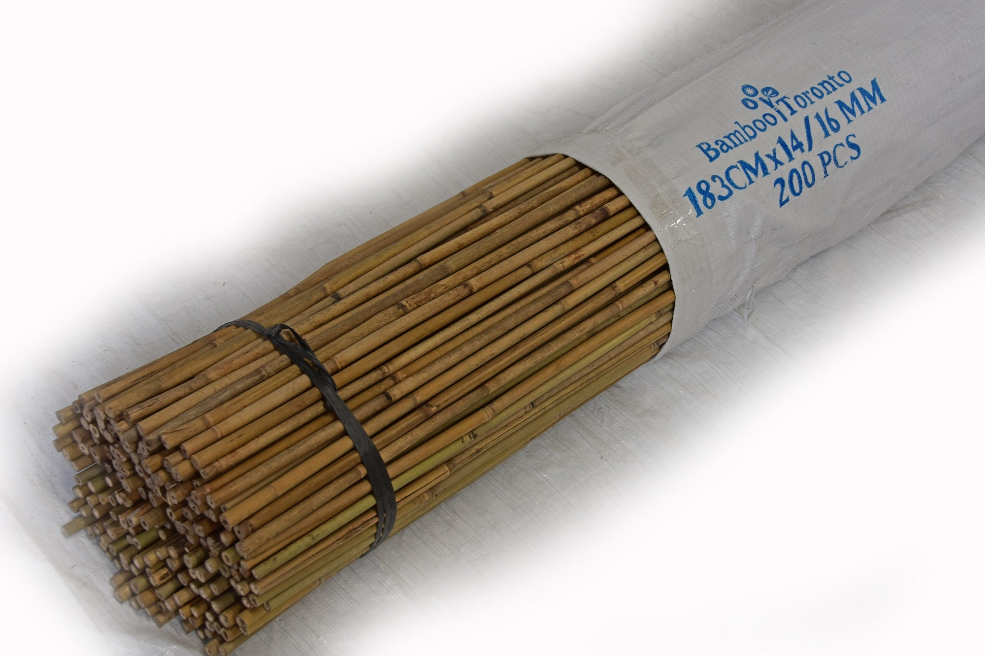 Tonkin Bamboo Pole 14-16mm x 4 to 7' Bundle of 200 - Bamboo Toronto Store