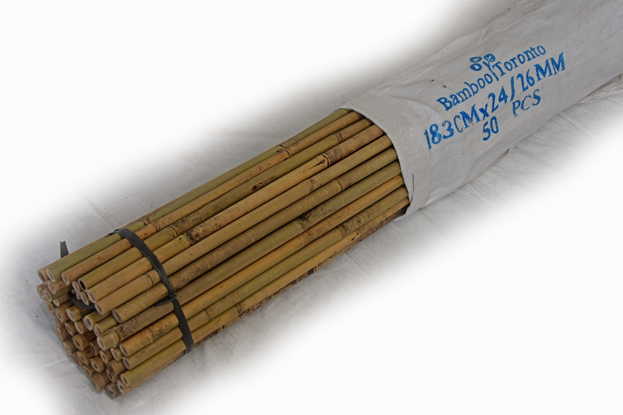 "Tonkin Bamboo Pole 1"" x 6 to 8'L"