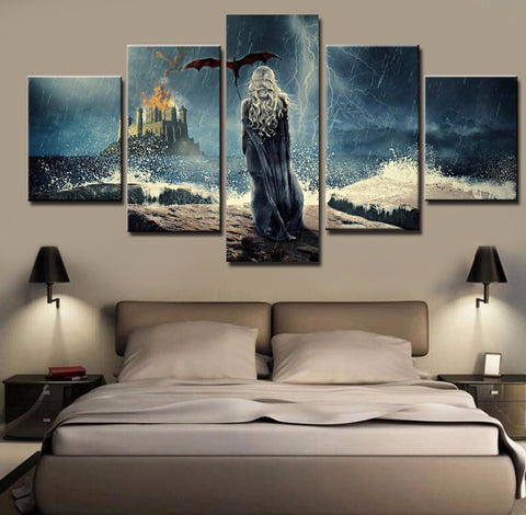GAME OF THRONES WALL ART CANVAS