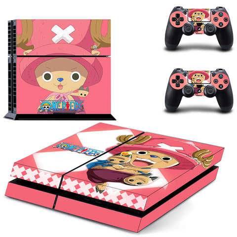 Chopper One Piece PS4 Skin Sticker For Console And 2 Controller