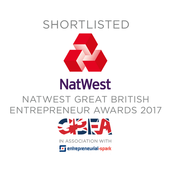 dandi® patch Makes Shortlist for the NatWest Great British Entrepreneur Awards!