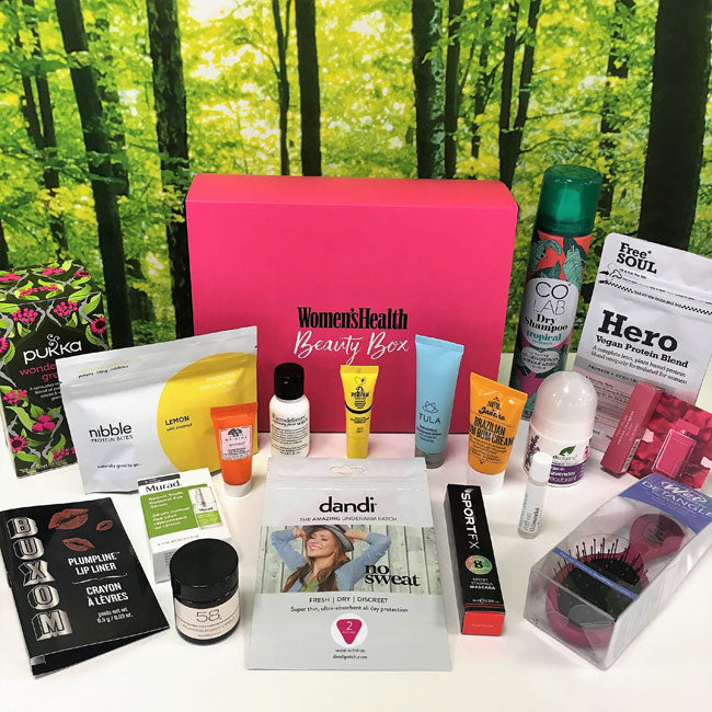 Inside The 1st Ever Women's Health Beauty Box