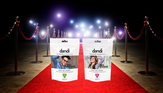 dandi patch gets into the hands of Oscar nominees & BRIT Award celebs