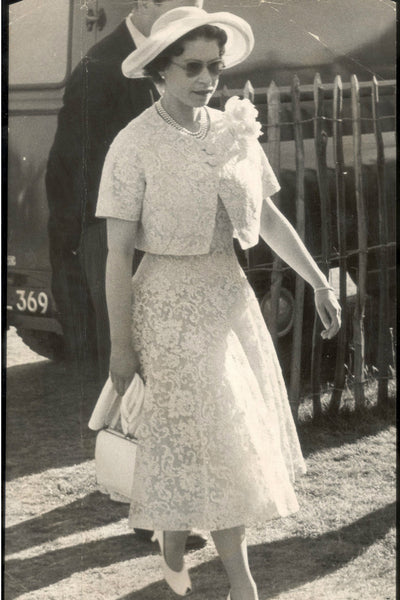 Queen Elizabeth fashionable ever since a young age