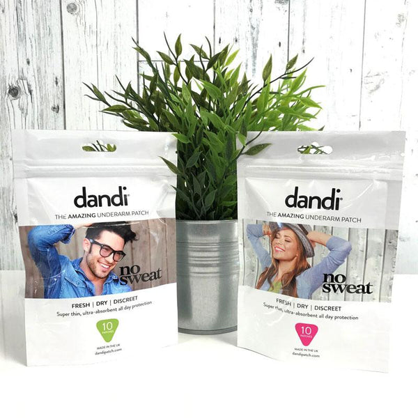 dandi patch with plant