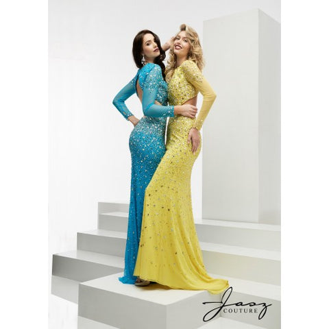 Coloured cut out prom dresses