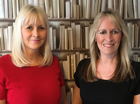 Theresa and Hayley Co-Founders of dandi® patch