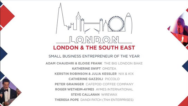 GBEA 2018 Finalists London and South East