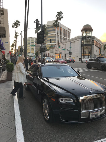 A visit to the Beverley Wilshire Hotel and Rodeo Drive LA