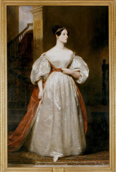Ava Lovelace paining by Margaret Carpenter