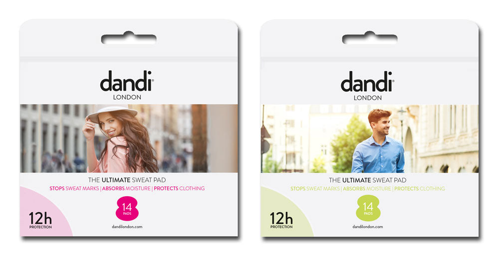 dandi pad - brand new product to stop sweaty armpits embarrassment