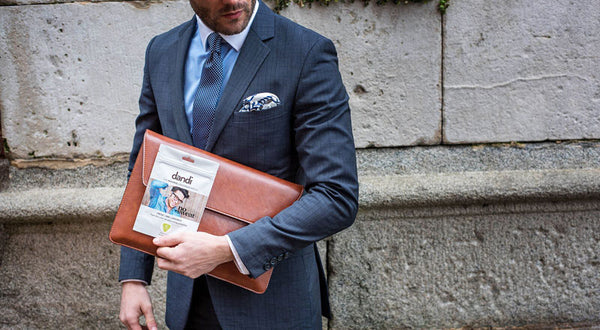 Me My Suit and Tie with dandi patch - How to wear a suit