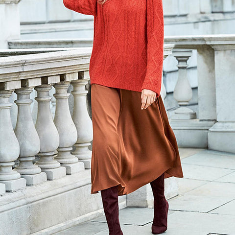 Brown is the new black this autumn / winter