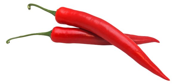 Foods that make you sweat - chilli