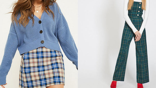 Plaid / checked fashion trend