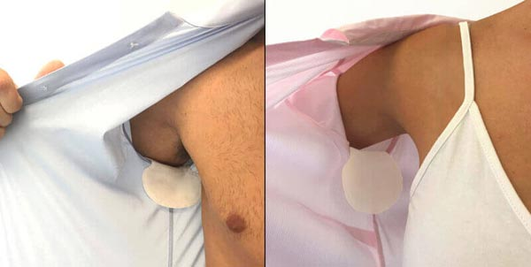 Best ways to stop armpit sweating from ruining shirts - Try dandi pad