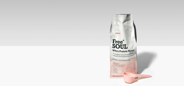 Free Soul Strawberry whey protein