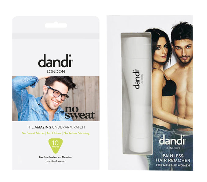 Special offer: dandi® patch – male pack of 10 and a Painless Hair Remover