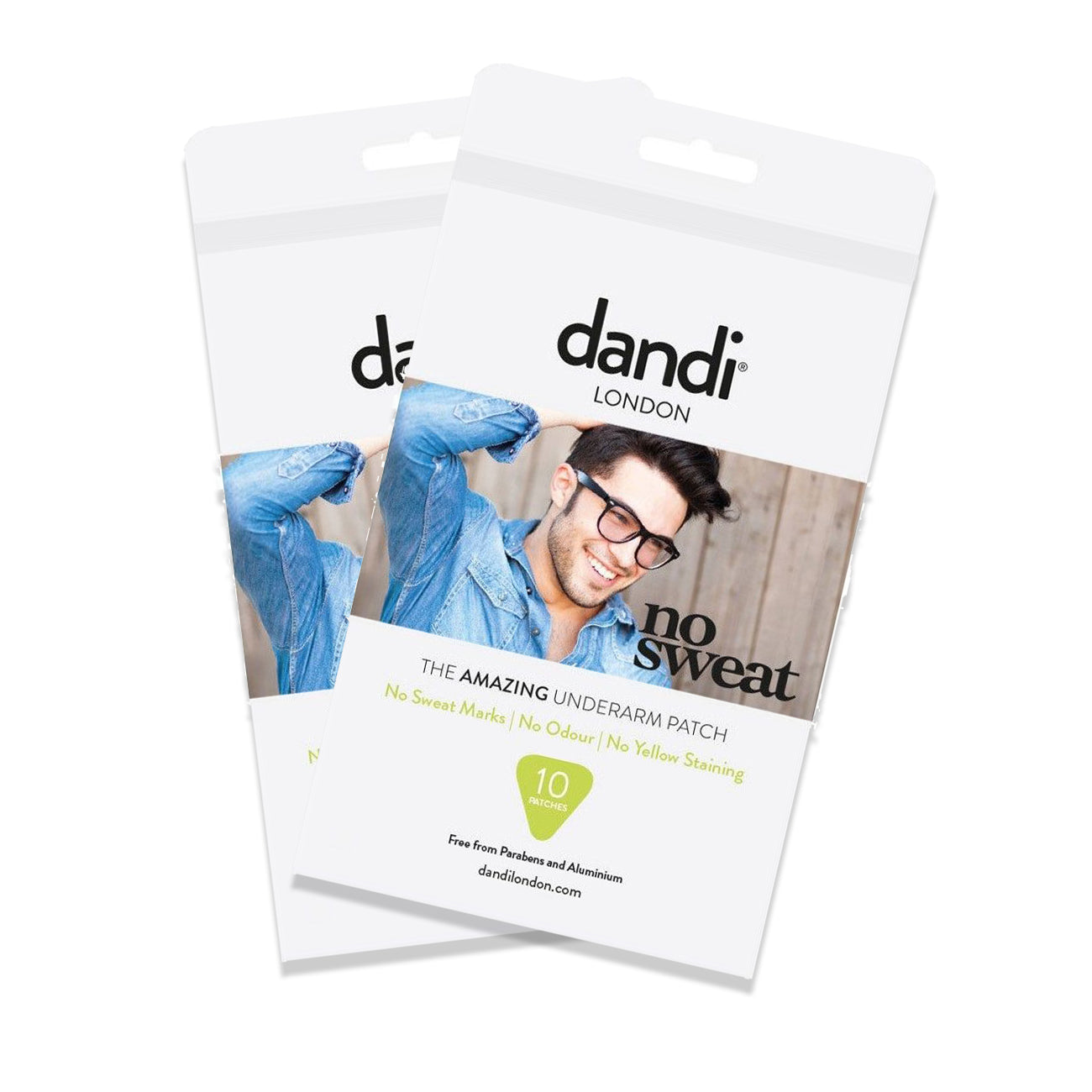 Post Lockdown Summer Promo - 2 packs of Men's dandi® patch