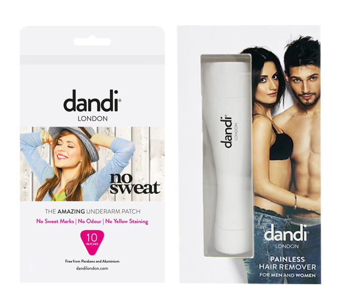 Special offer: dandi® patch – female pack of 10 and a Painless Hair Remover