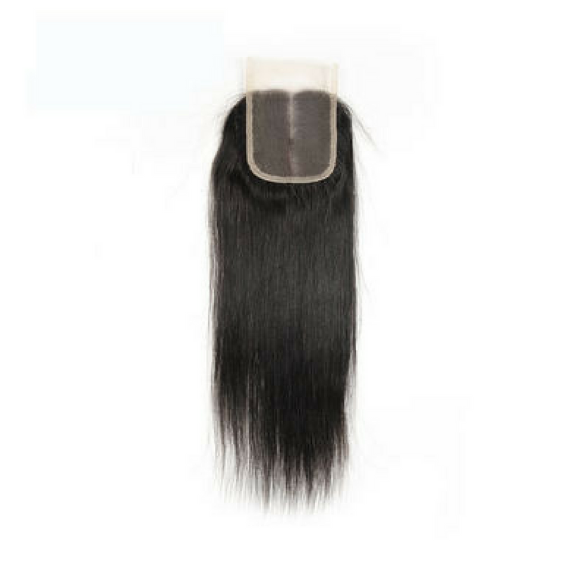 Brazilian 4 * 4 Lace Closure
