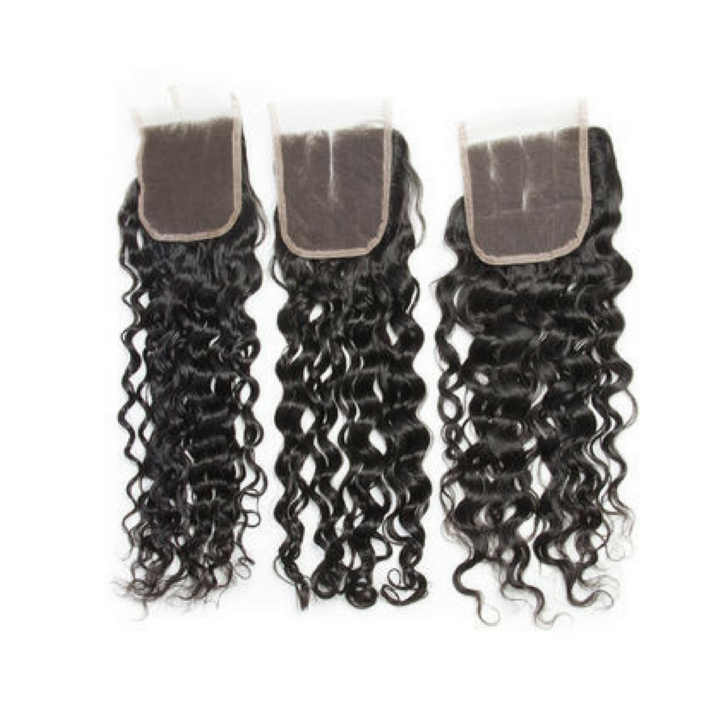 Mongolian 4 * 4 Lace Closure
