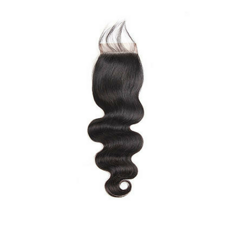 Peruvian 4 * 4 Lace Closure