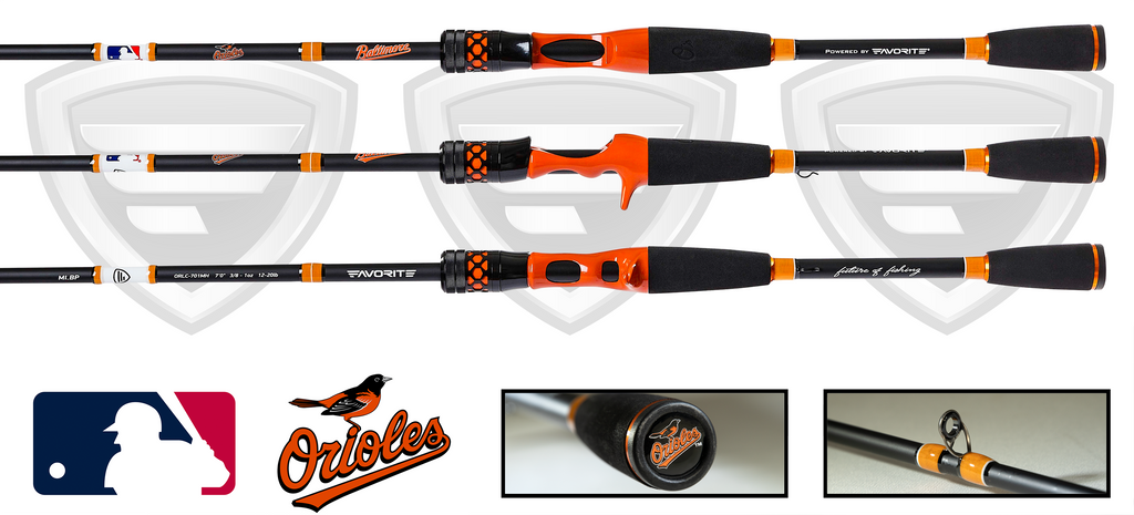 Baltimore Orioles Casting Rod